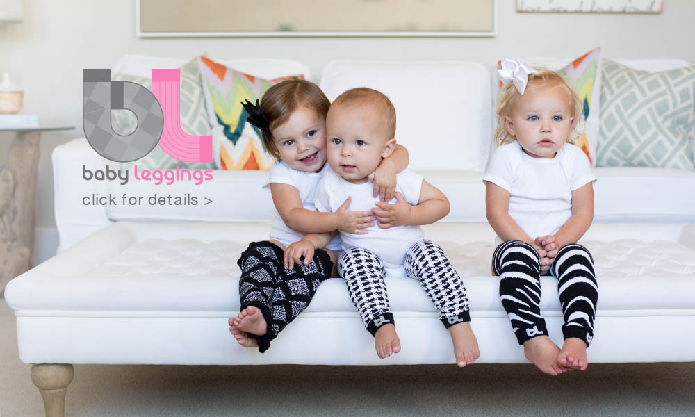 Baby Leggings take baby style to the next level and make life easier for mom. Our ever-growing collection has the perfect match for every baby's wardrobe!